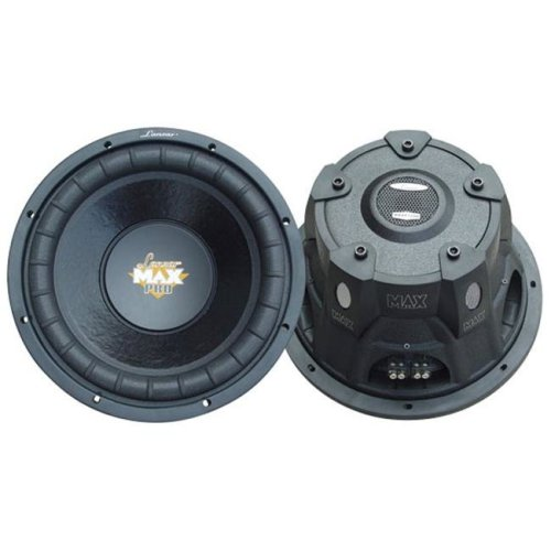 SOUND AROUND/LANZAR AUDIO MAXP124D 12   1600 Watt Dual Voice Coil Subwoofer Driver for Small Enclosures