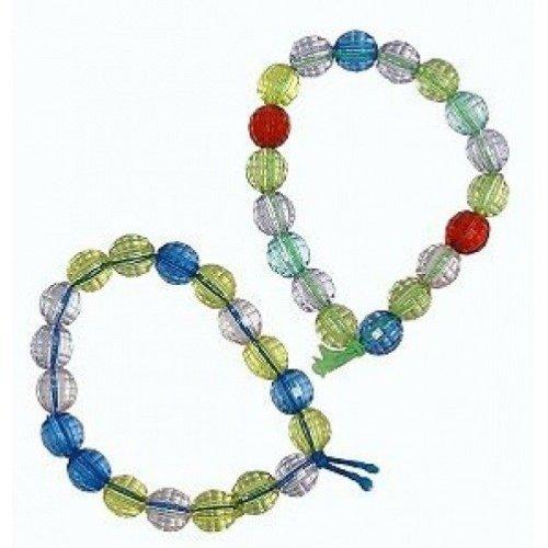 Box of 144 Crystal Bead Bracelets