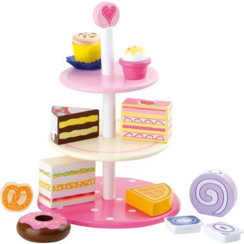 3 Tier Wooden Cake Stand