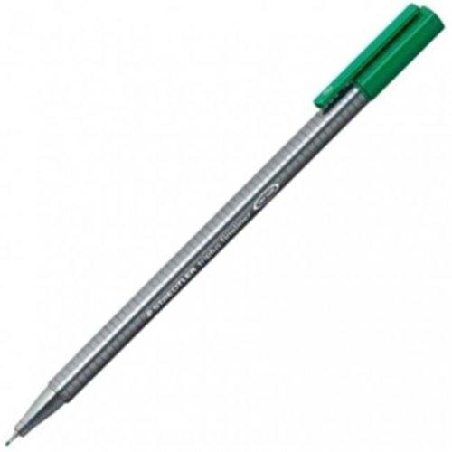 Staedtler 334-5 Triplus Green Fineliner Pen