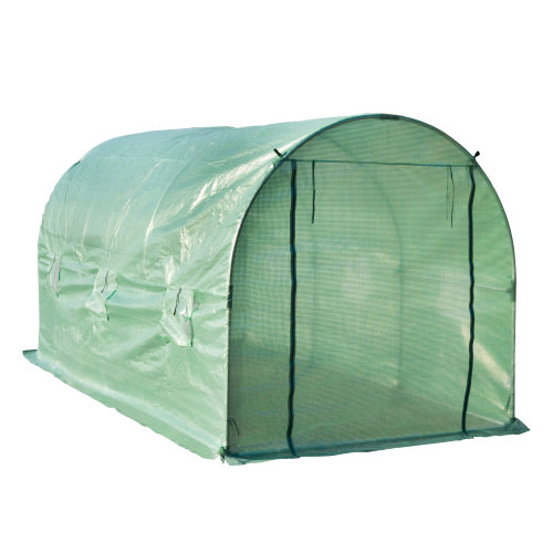 Outsunny Walk-in Greenhouse, 4 x 2 M-Green