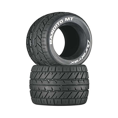 Monster Truck Tires >> Duratrax Bandito Mt 3 8 Rc Monster Truck Tires With Foam Inserts Cs