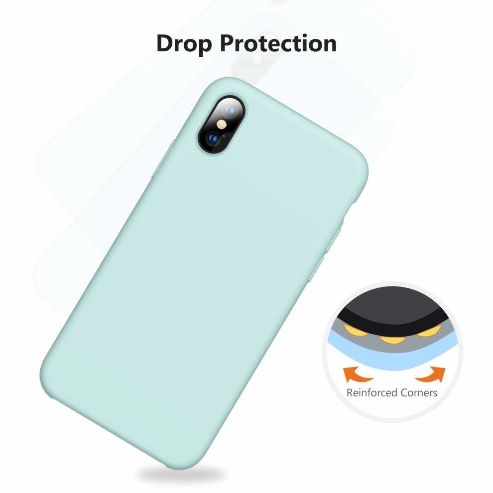 866d4e1c3d1830 ... TORRAS iPhone X Case, iPhone XS Case, [Love Series] Liquid Silicone Gel  ...