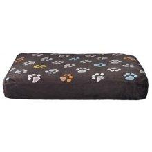 Trixie Jimmy Dog Cushion, 80 x 55 Cm, Taupe - Pillow Rectangular Grey Various -  trixie dog pillow jimmy rectangular grey various sizes new