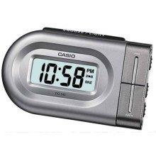 Casio Digital Beep Alarm Clock - Silver (DQ543-8)