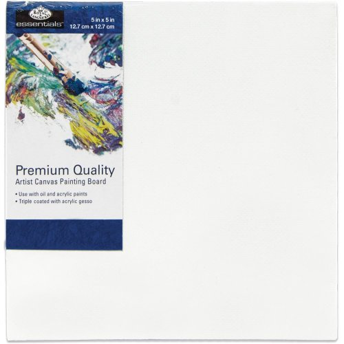 "Essentials(Tm) Premium Canvas Board-5""X5"""