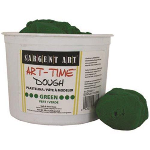 3Lb Art Time Dough - Green