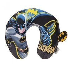 Batman 32cm Hoody Neck Cushion -  dc comics batman hoody travel neck rest sleeping pillow hoodie cushion 32cm