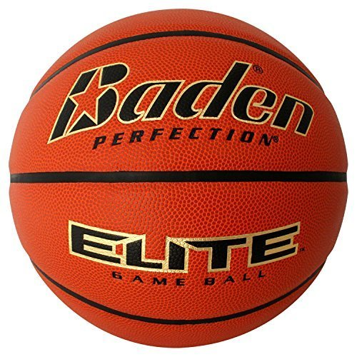 "Baden Elite Indoor Game Basketball, NFHS Approved,Intermediate Size 6 (28.5"")"