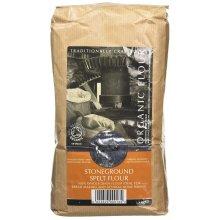 Bacheldre Watermill Organic Stoneground Wholegrain Spelt Flour 1.5 kg x4