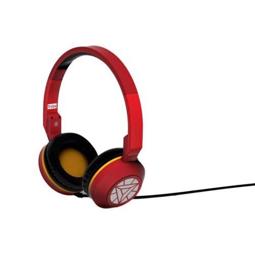 Tribe Marvel Iron Man Foldable On-Ear Headphones