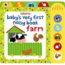 Baby's Very First Noisy Book Farm (Baby's Very First Books)