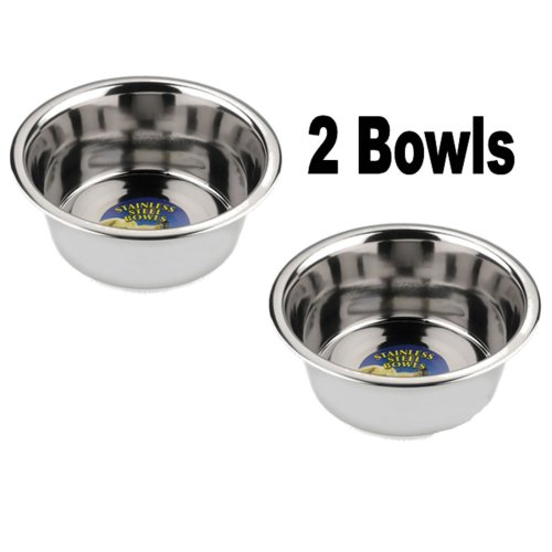 Stainless Steel Dog Bowls 21cm
