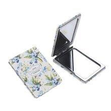 One Portable Princess Mirror Vanity Mirror Little Makeup Mirror 8x6x1CM (Green Leaves)