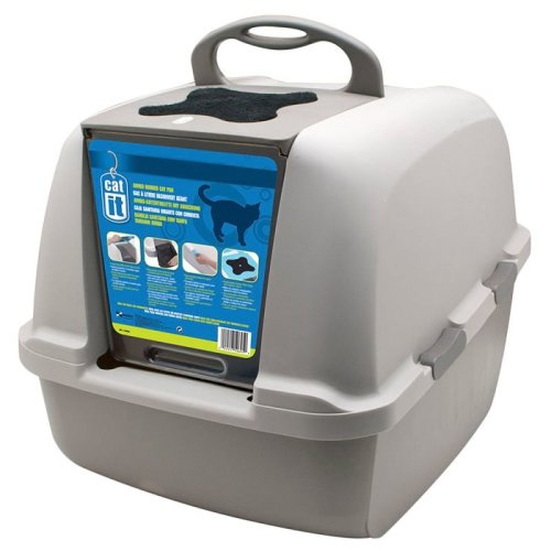Jumbo Cat Litter Box with FREE Replacement Filters