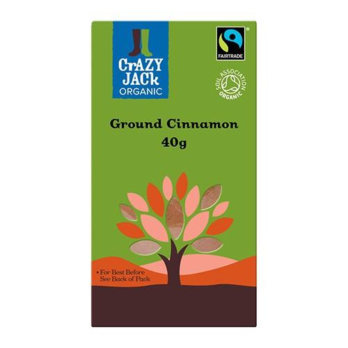 Crazy Jack Cinnamon - Ground Ft 40g
