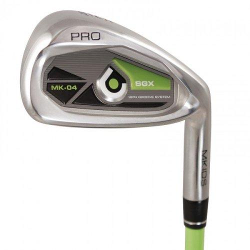 MKids Pro Junior 8 Iron Right Hand Green 9-11 Years
