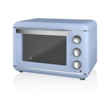 Swan Products Retro Electric Oven 23 Litre - Blue (SF37010BLN)