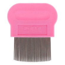 Pet Supplies Dogs Cats Grooming Dematting Tools Flea Combs Health Supplies -Pink