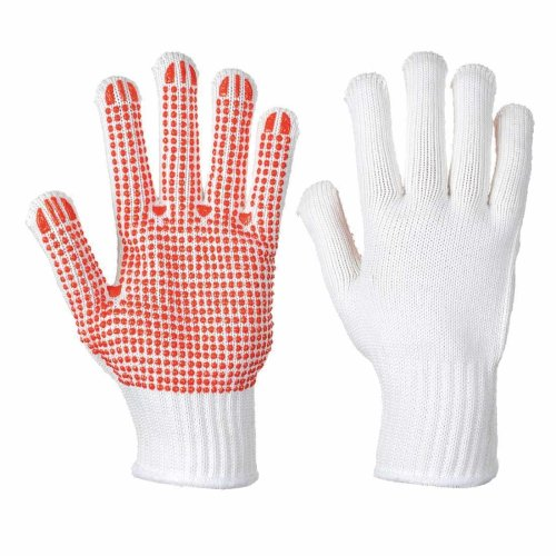 sUw - Heavy Duty Polka Dot Gripper Heat Resist Gloves (1 Pair Pack)