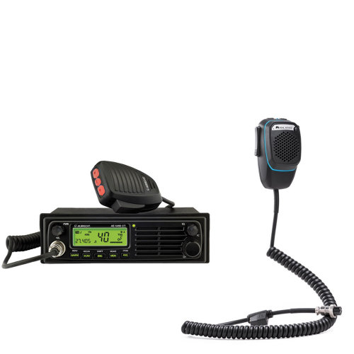 CB Radio  Albrecht AE 6490 + Dual Mike intelligent 6-pin Bluetooth microphone