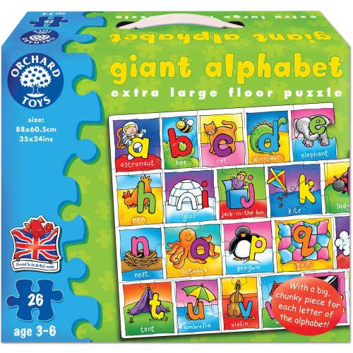 Orchard Toys Giant Alphabet Puzzle