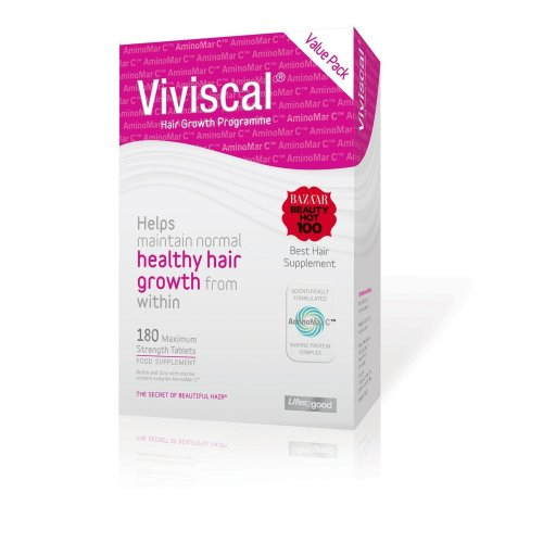 Viviscal Woman Hair Growth Programme Maximum Strength 180 Tab