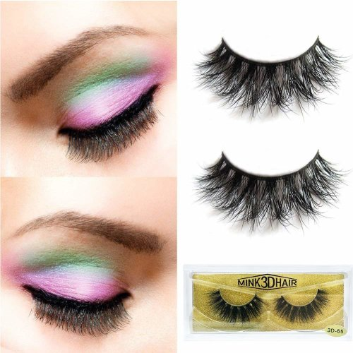 6c78386dd73 False Eyelashes, 3D Natural Thick Fake Lashes Long Handmade False Eyelashes  For Makeup (1 Pair) on OnBuy