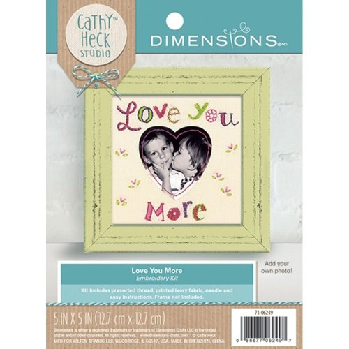 * Dimensions Embroidery - Loveyou More