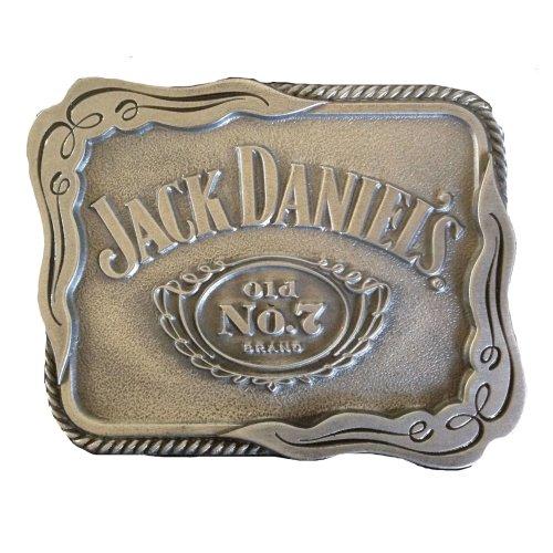 Jack Daniels Belt Buckle In Presentation Tin