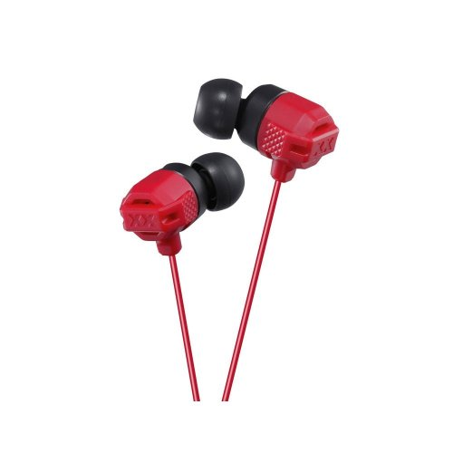 JVC Xtreme Xplosives Ultimate Bass In-Ear Headphone - Red