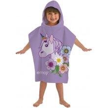 Emoji 'Unicorn' Hooded Poncho Towel