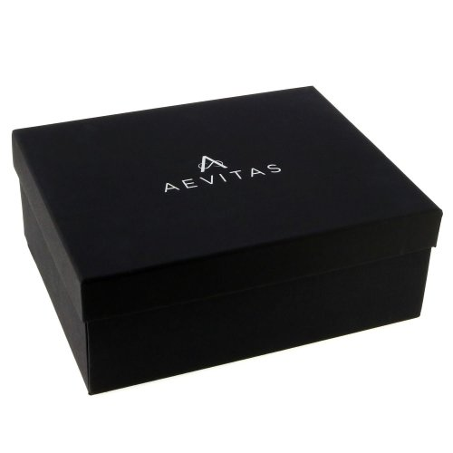 Piano Black 4 Watch Box for  + 16 Pair of Cuffliks by Aevitas