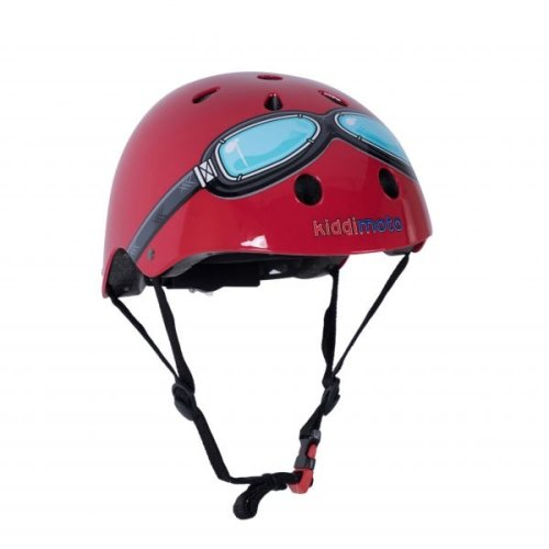 Kiddimoto Children's Bike / Scooter / Skateboarding Helmet - Goggle Design