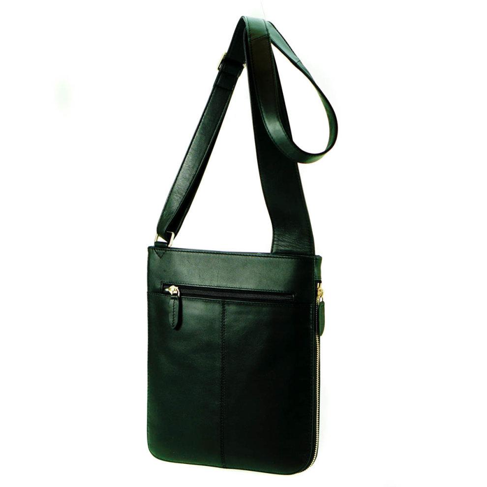 9630a027f032c7 ... Radley Pocket Bag Black Leather Medium Zip Top Cross Body Bag - 2 ...