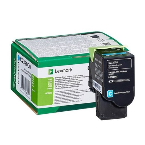 Lexmark Toner cartridge - 1-pack Cyan