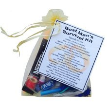 Best Man Survival Kit Gift - A great sentimental fun gift