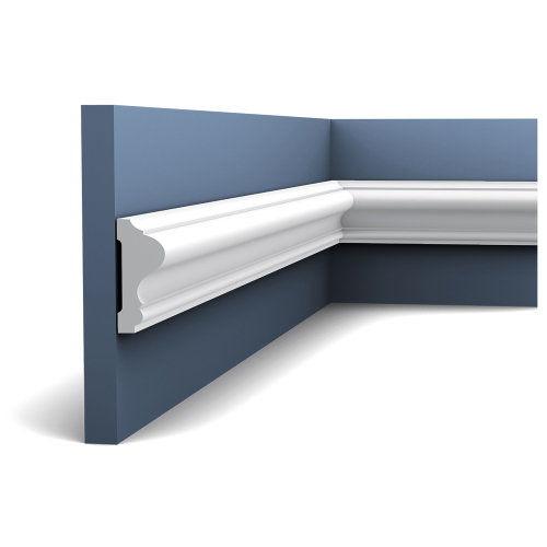 Orac Decor P8020F LUXXUS Flexible Panel Moulding Cornice Stucco | 2 m