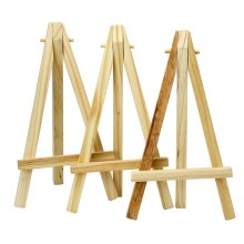 Trixes 3pc Mini Wooden Easels