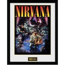 Nirvana Unplugged Collector Print