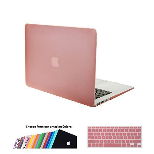 separation shoes 9f029 6ab5a MacBook Air 13 inch Case Cover,iNeseon Ultra Slim Plastic Hard Shell Snap  on Protective Case with Silicone Keyboard Cover for Apple MacBook Air...