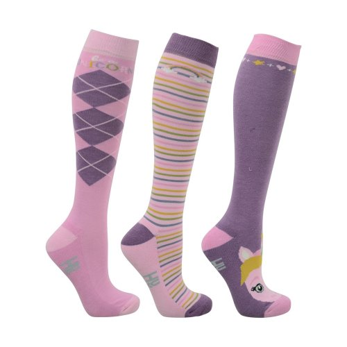 HyFASHION Adults Unicorn Socks