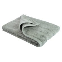 New Egyptian Cotton Soft High Quality Solid Color Washcloth Bath Towel Flannel, Army Green (34x75cm)