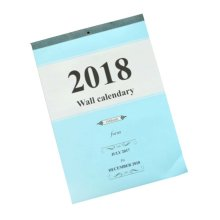 Good Office Quality 2018 Monthly Calendar Wall Calendar Plan Helpers,Blue