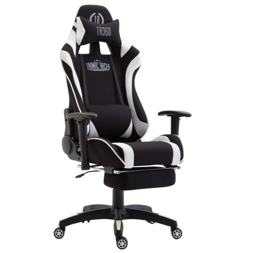 Office chair Jarama fabric with footrest