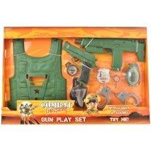 Combat Mission Army Gun Play Set 8PC