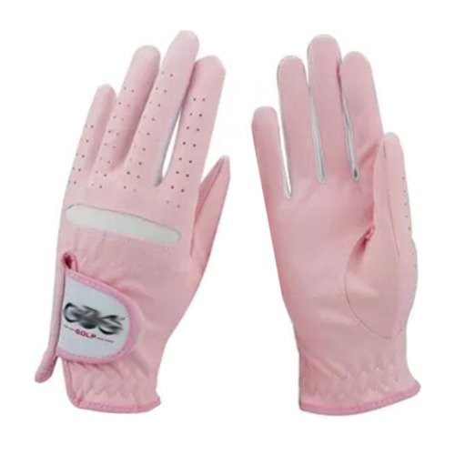 Soft Breathable Golf Gloves Golf Accessories Golf Gifts for Women(Orange) #18