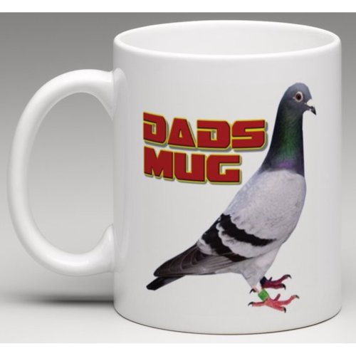Dads Mug Pigeon - Novelty Ceramic Mug