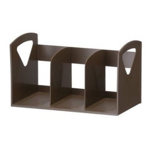 Premium Tall Cute Bookends, Brown