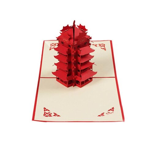 Lovely Holiday Cards Attractive Greeting Cards Three-Dimensional Invitation Card